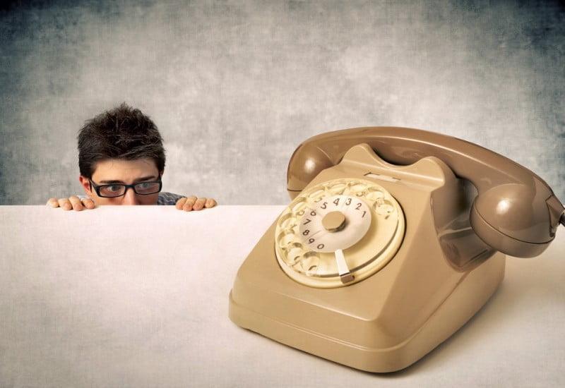 恐怖の電話!?