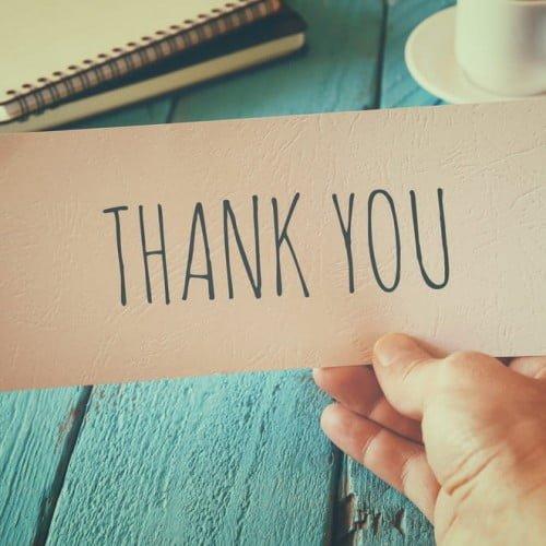 【本文】感謝の気持ちを伝える例文集